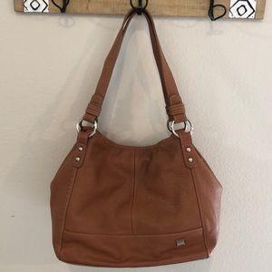 VGUC The Sak Tan Genuine Leather Handbag! 👜👜👜👜